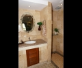 Private bathroom in guest bedroom