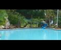 water Slider in big pool
