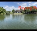 House with river plot for sale